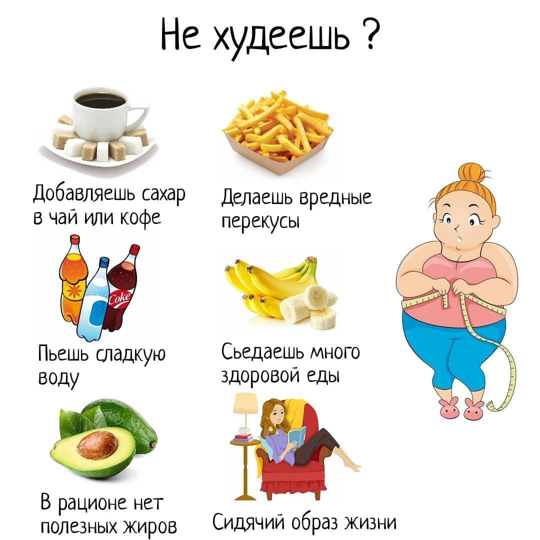 Возможно поэтому вы не можете похудеть