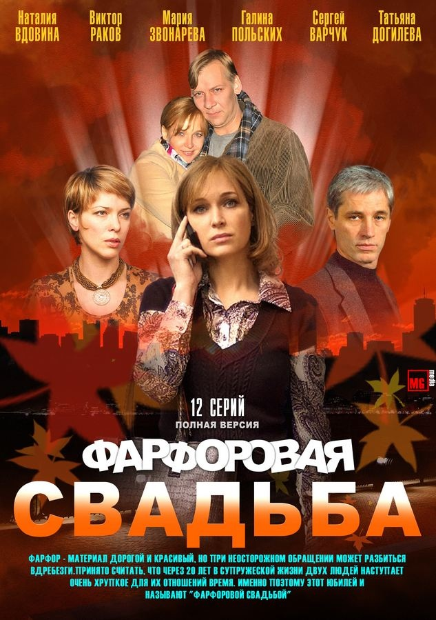 Мелодрама «Фapфopoвaя cвaдьбa» (2011) 1-12 серия из 12