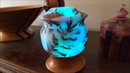 Lighted Pine Cone Box