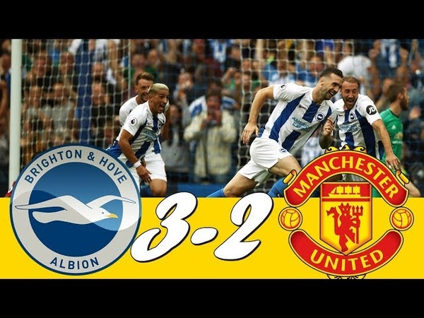 Brighton 3 - 2 Manchester United ● All Goals Extended Highlights - 19/08/2018 |HD