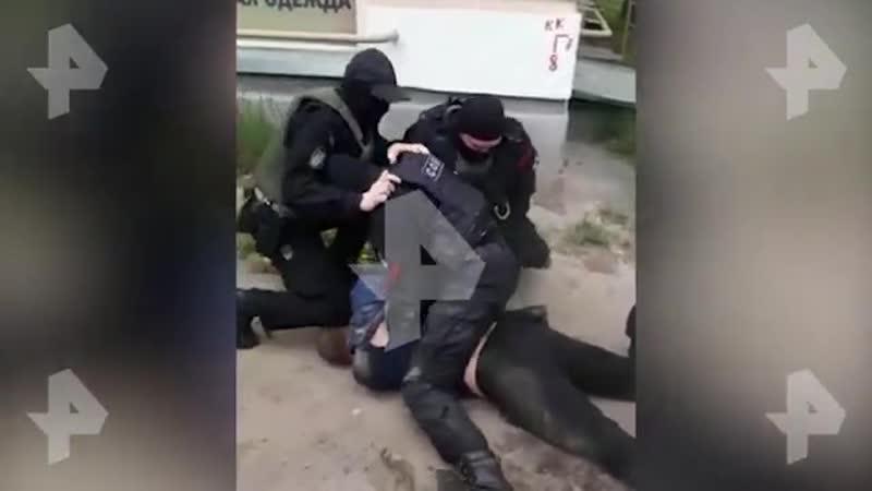 Зрелищные кадры задержания бандитов грабивших магазины в Твери