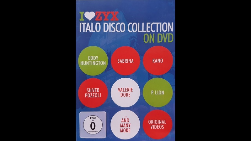 I Love Zyx Italo Disco Collection On DVD (Part 1)