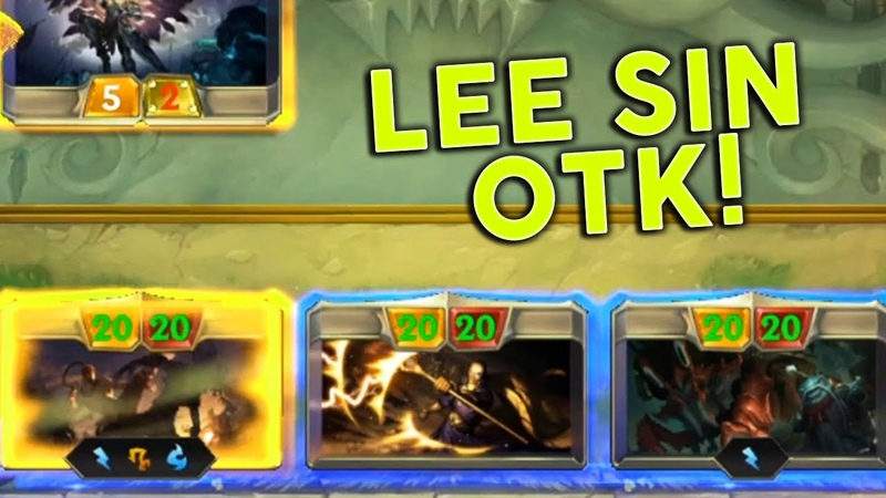 *NEW* LEE SIN OTK! - Legends of Runeterra Funny Moments 70 | LoR Highlights