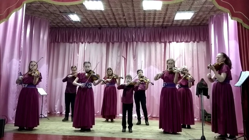Каприс 24 Н Паганини Аранжировка Ансамбль скрипачей Dolche Vita