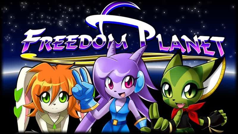 Freedom Planet Первый Стрим 1 Прохождение на Стрим %100