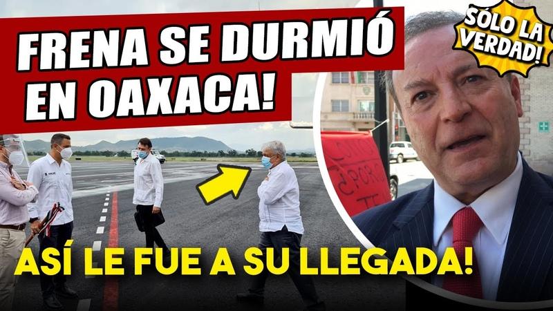 Esto acaba de pasar AMLO sorprende a todos en su llegada a Oaxaca agarró a Gilberto L mal parado