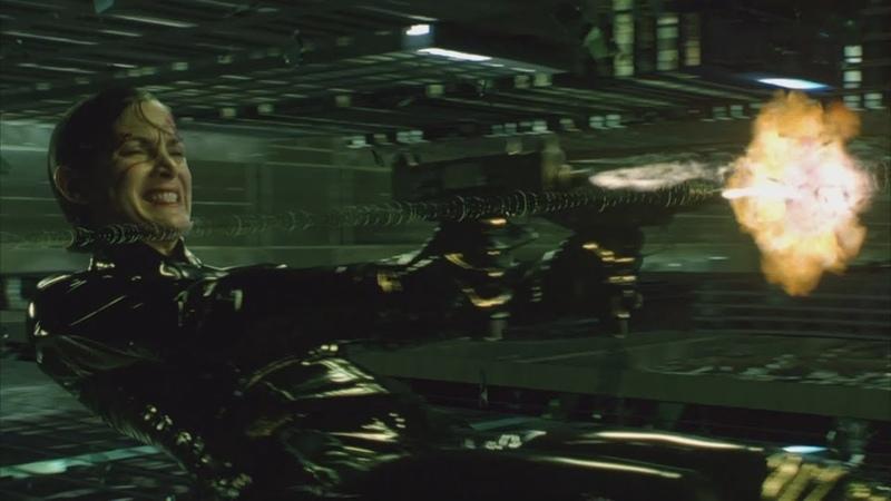 Тринити против агента Матрица перезагрузка