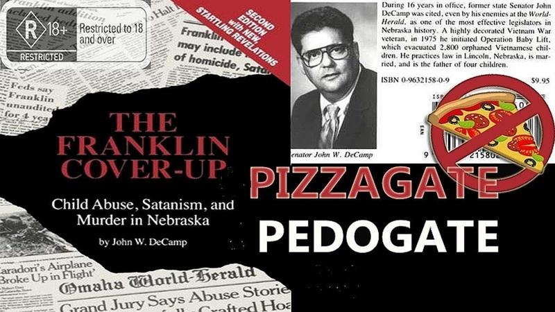 Обзор книги «The Franklin cover-up» Джона Декампа (педофилия, проституция, порнография, политика)