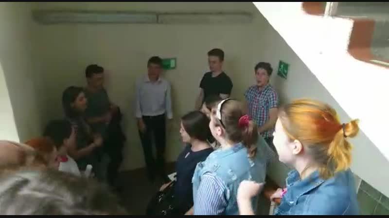 Звездный состав академического хора колледжа Н А Римского Корсакова
