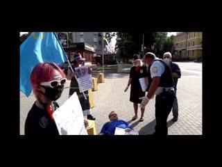 Видео задержания Владимира Шипицына