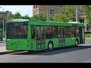 Автобус Минска МАЗ-203.068, гос.№ АМ 9275-7, марш.78 (15.02.2020)