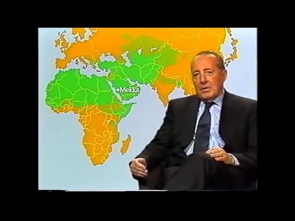 Peter Scholl Latour eine Ikone des Deutschen Journalismus über den Islam 1991