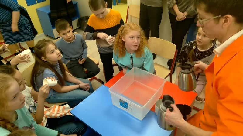 Научное и крио шоу Нано мороженое