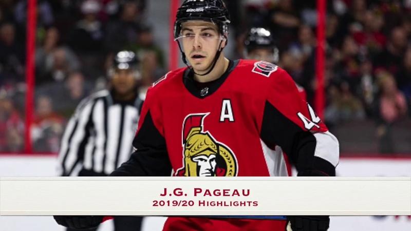 Jean Gabriel Pageau Highlights 2019 20 Season Ottawa Senators