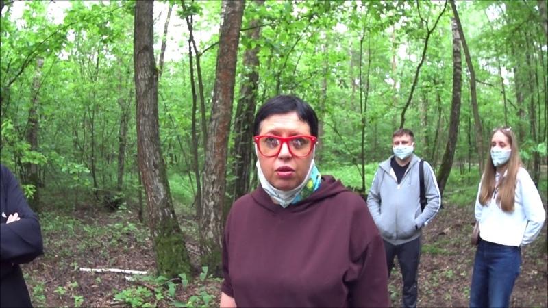 Активисты против благоустройства Ромашковско Раздоровского леса