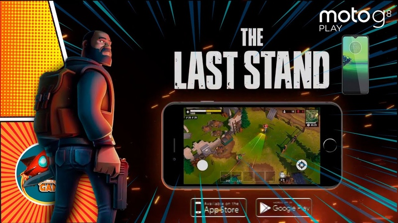 The Last Stand: Zombie Survival with Battle Royale Motorola G8 Play Gameplay Android