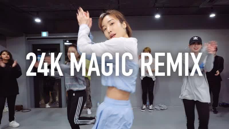 1Million dance studio 24K Magic - Bruno Mars (R3hab Remix) / May J Lee Choreography