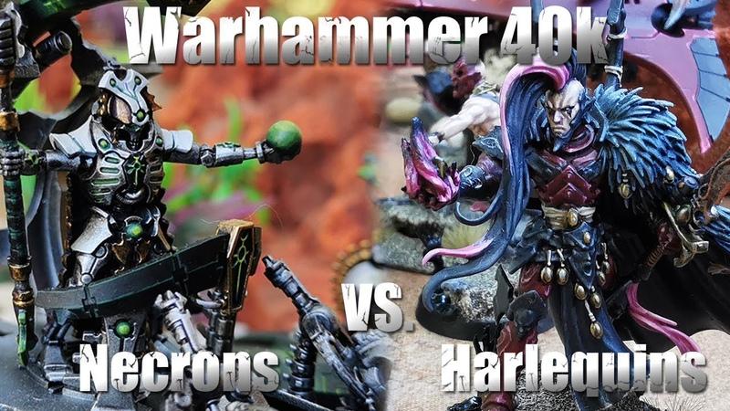 Warhammer 40 000 Battle Report Harlequins vs Necrons 38