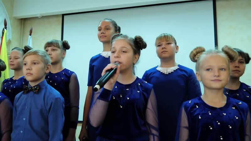 Яблоневый вечер студия Камертон руководитель С Малявкина