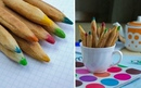 Цветные карандаши к чаю