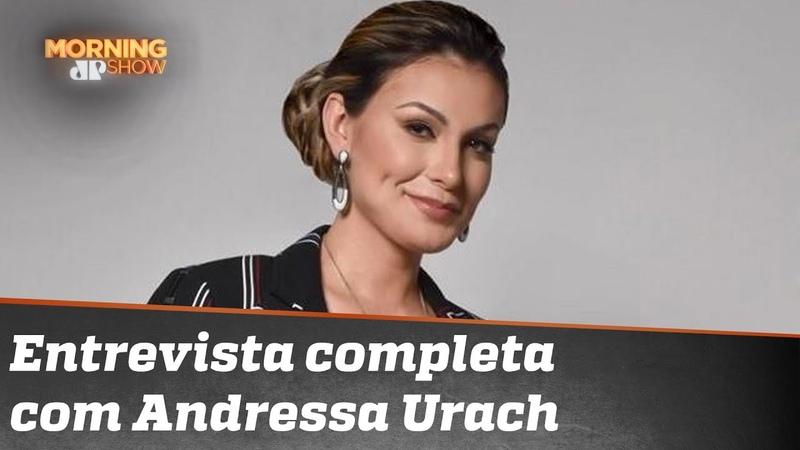 Andressa Urach está de volta