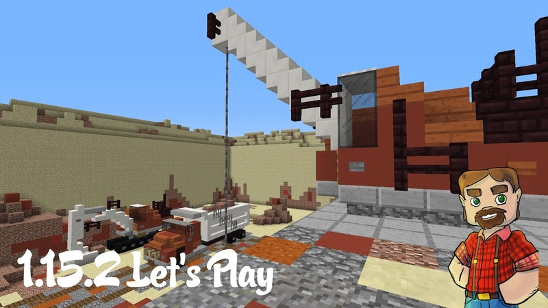 1 15 2 Vanilla Minecraft Let's Play Episode 88 Finishing The Quarry