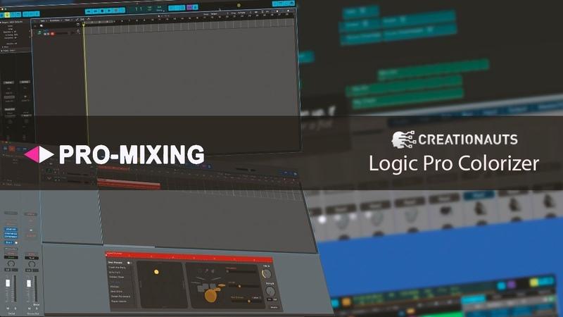 Logic Pro Colorizer [Арам Киракосян]