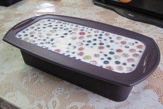 Восхитительно нежный Сметанный десерт с ягодами (сметанный торт-желе)