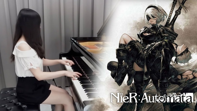 NieR: Automata Main Theme「Weight of the World / 壊レタ世界ノ歌」| Ru's Piano