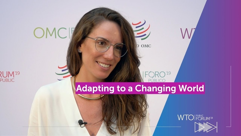 Adapting to a changing world WTO Public Forum