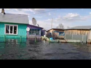 Паводок в Серебрянке, Гайнский район