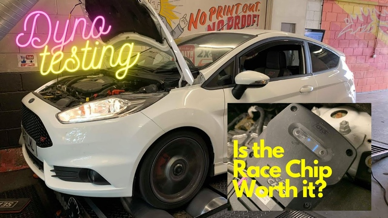 Ford Fiesta ST180 Race Chip Tuning Box Tested