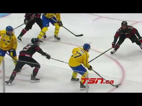2018 U18 Hlinka Gretzky Cup   GOLD MEDAL GAME   Team Sweden vs Team Canada   Extended Highlights