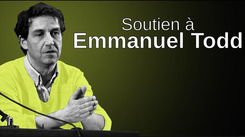 Pierre Yves Rougeyron La purge ça urge soutien à Emmanuel Todd