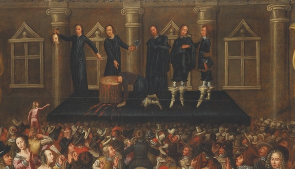 Казни в живописи Изображающие момент экзекуции произведения можно чисто условно разделить на несколько групп: казни христианских мучеников, еретиков, исторических личностей и особ королевской