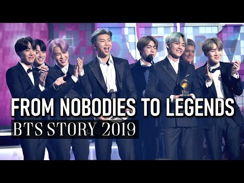BTS FROM NOBODIES TO LEGENDS [2019]