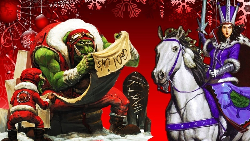A Very Kislev Christmas Ice Queen Tzarina Katarin and the Greenskin Horde Total War Warhammer 2