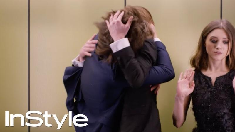 Joe Keery, Natalia Dyer Charlie Heaton 2017   InStyle