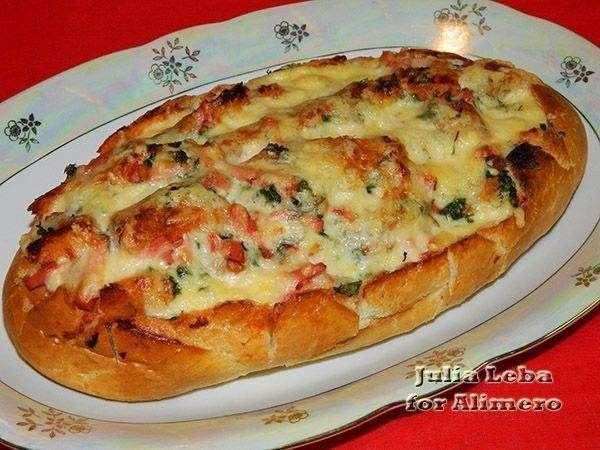 Оригинальный Батон-пицца