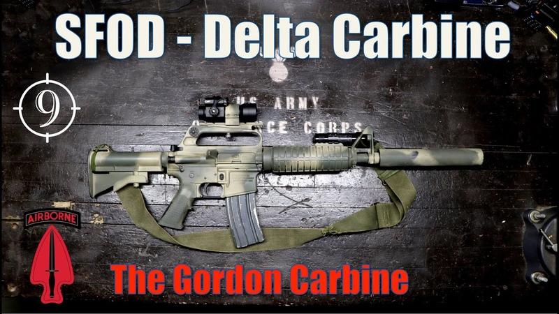 Gordon's Carbine Black Hawk Down The Delta Colt 723 733 suppressed