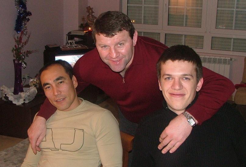 С Талантом Дуйшебаевым и Сергеем Рутенко