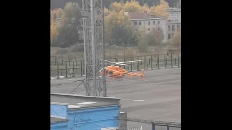 Вертолёт в Краснотурьинске