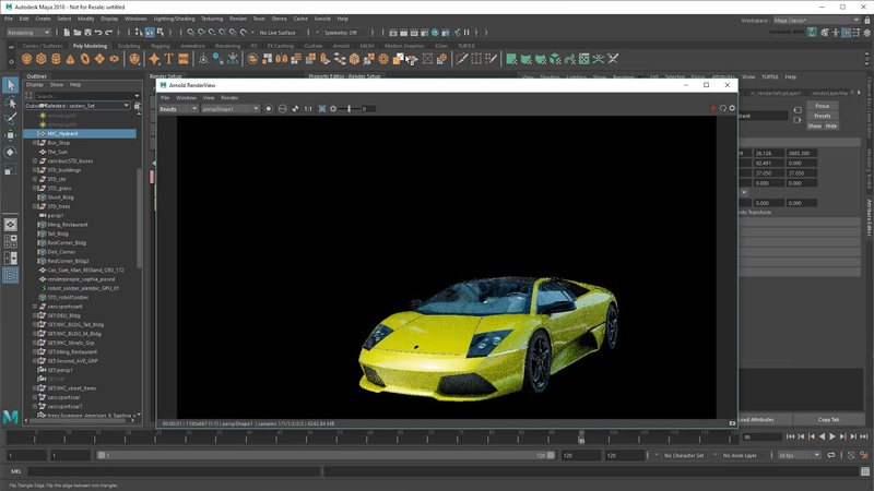 Rendering a complex scene - Part 3/7: Building collections and matting/cutting out objects
