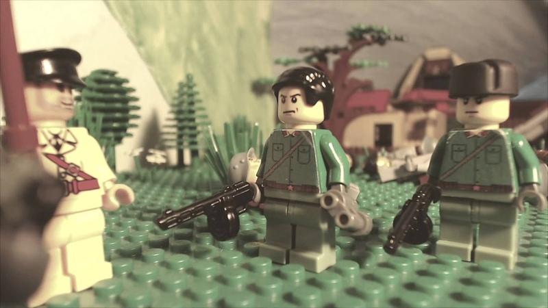 First day of World War2 Первый день ВОВ. Лего мультфильм о войне!