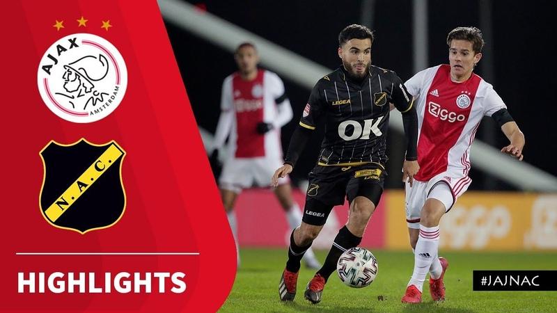 Samenvatting Jong Ajax NAC Breda 17 02 2020