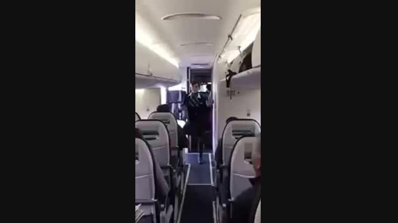 прикольная стюардесса