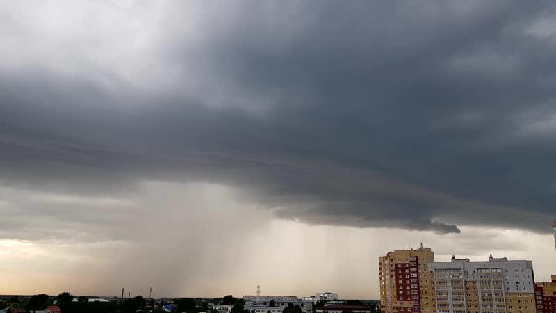 Сегодняшнее небо в Тюмени