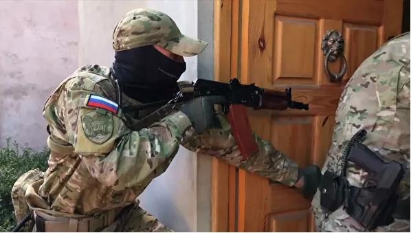 В Крыму задержали украинских разведчиков, пытавшихся организовать теракты