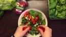 Обед Салат с тунцом и фасолью