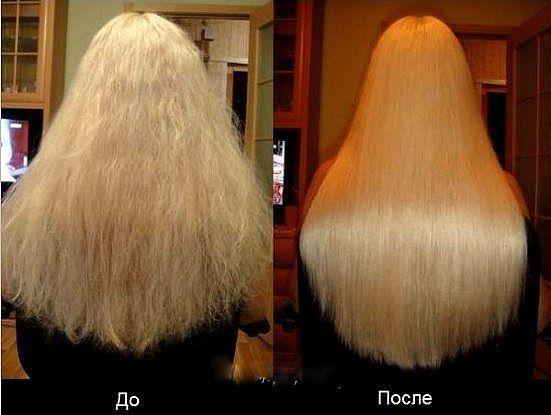 Домашнее ламинирование волос. - 1 яйцо- 4 ст. л. кефира или жидкого йогурта- 2 ст. л. майонеза- 1 ст. л. касторового масла. Всё смешать, нанести на волосы на 15 минут и